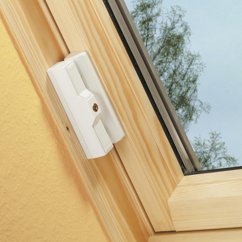 ABUS DF 88 Dachfensterschloss zur Fenstersicherung, Voitleitner Sicherheitstechnik