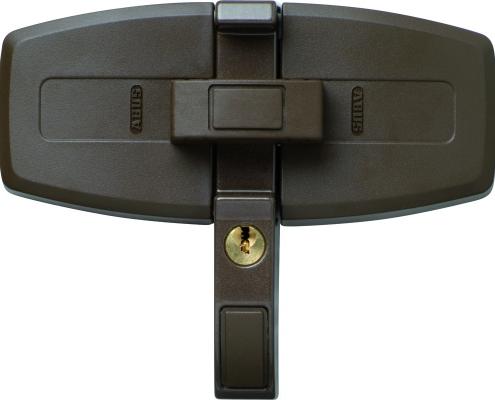 ABUS DFS 95 Doppelflügelschloss zur Fenstersicherung schwarz, Voitleitner Sicherheitstechnik