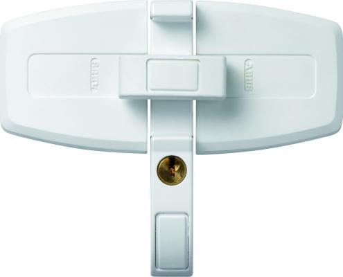 ABUS DFS 95 Doppelflügelschloss zur Fenstersicherung weiß, Voitleitner Sicherheitstechnik