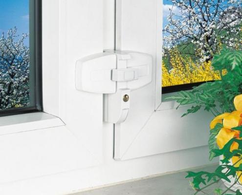 ABUS DFS 95 Doppelflügelschloss zur Fenstersicherung, Voitleitner Sicherheitstechnik