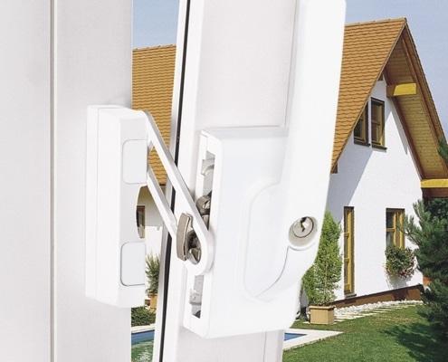 ABUS FO 400 Fensterzusatzschloss zur Fenstersicherung, Voitleitner Sicherheitstechnik