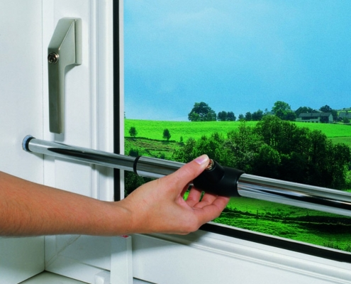ABUS Tele-Z Teleskopstange zur Fenstersicherung, Voitleitner Sicherheitstechnik