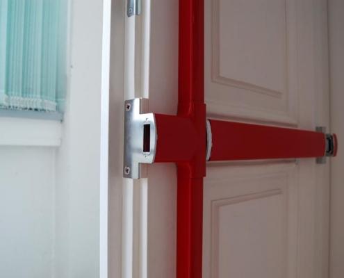 Balkenschloss zur Türsicherung, Voitleitner Sicherheitstechnik